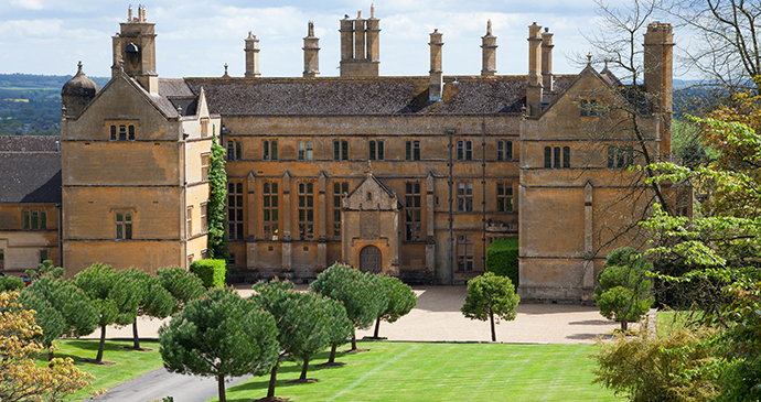 Batsford House, Moreton-in-Marsh, Cotswolds, England by Andrew Roland, Dreamstime