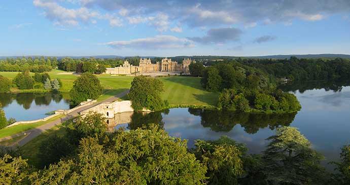 Blenheim Palace, Oxfordshire, Cotswolds, England by Blenheim Palace