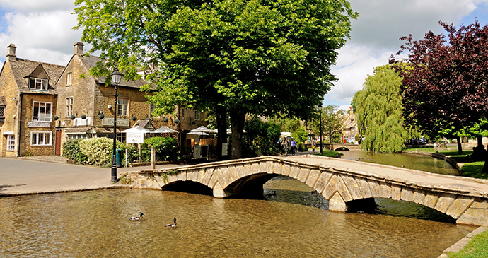 Bourton-on-the-Water, Cotswolds, England by Caron Badkin, Shutterstock