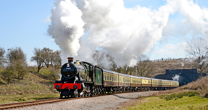 Gloucestershire Warwickshire Steam Railway Cotswolds UK by Jack Boskett heritage railways
