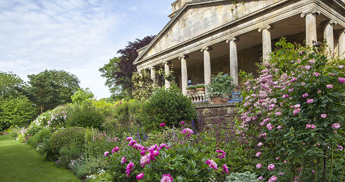 Kiftsgate Court Gardens Mickelton Cotswolds England by  Marianne Majerus Garden Images