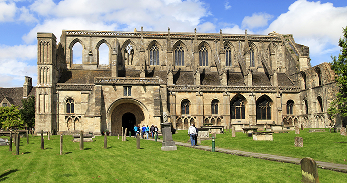 Malmesbury Abbey, Cotswolds, England by www.visitwiltshire.co.uk