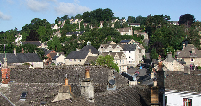 Nailsworth, Cotswolds, England by Caroline Mills