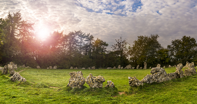 Rollright Stones Cotswolds England UK by allou, Shutterstock