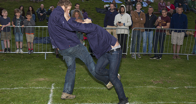 Shin-kicking, Cotswold Olimpicks, England by Chris Roberts at Wider View Photography