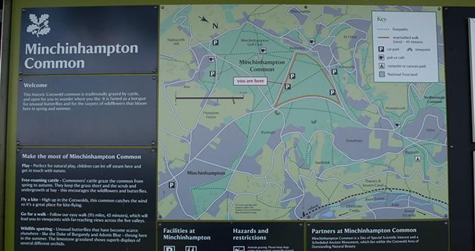 Minchinhampton Common National Trust © Guy Jackson