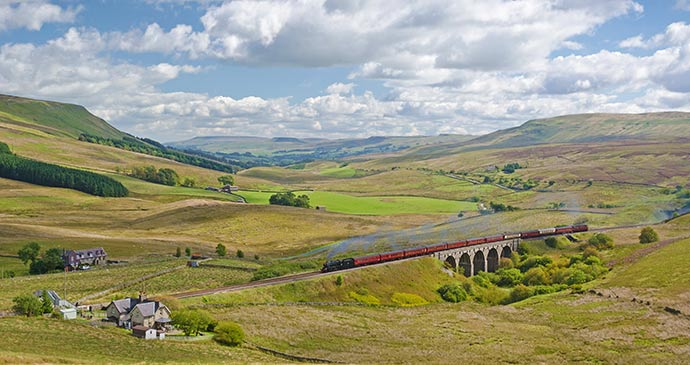 Settle & Carlisle Railway England by David Horner