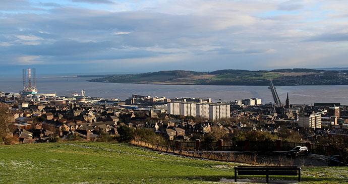 Dundee landscape