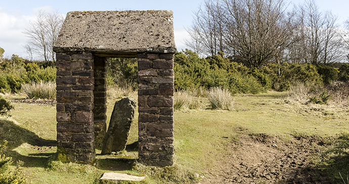Caratacus Stone, Winsford Hill, Exmoor, UK by @ExmoorNationalParkAuthority