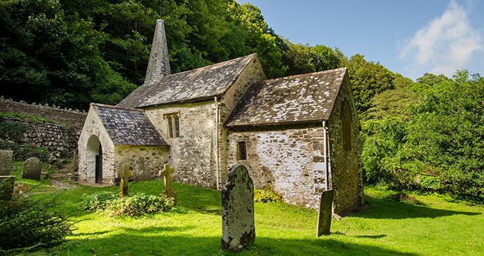 Culbone church, North Devon, UK by Nigel Stone
