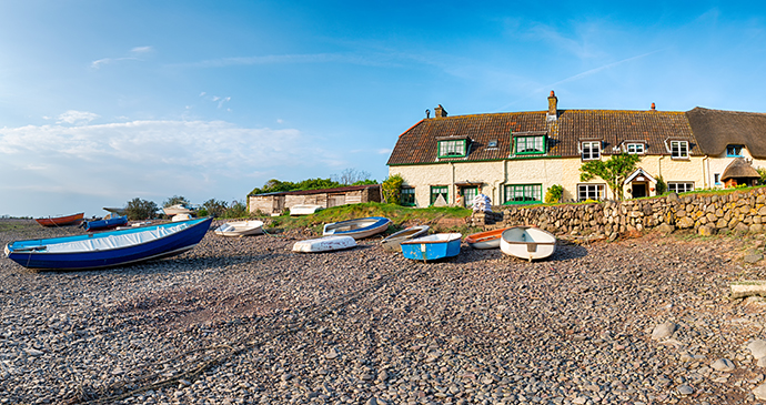Porlock Weir, Somerset, UK by Helen Hotson, Shutterstock