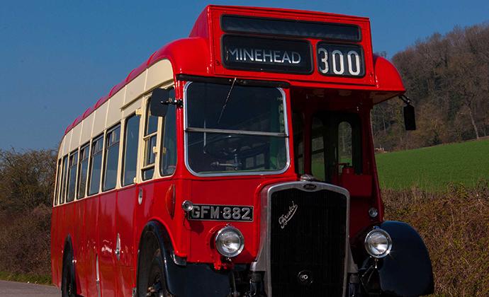 Quantock Heritage Bus, Exmoor, UK by Visit Exmoor