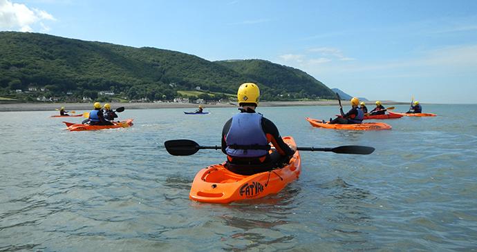 sea-kayaking, Exmoor, UK by Exmoor Adventures