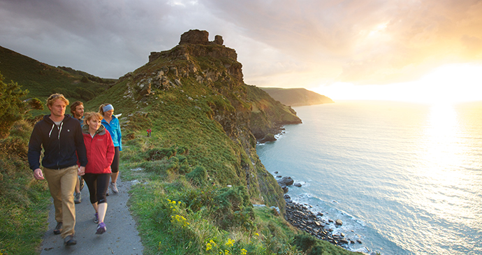 valley of the rocks, Exmoor, UK by Cool Tourism