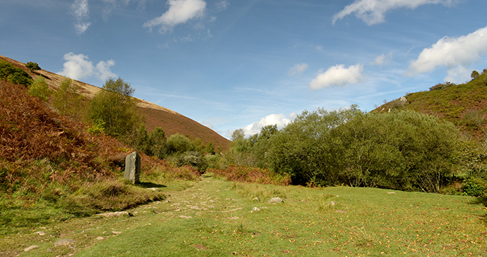 Blackmore Memorial Stone, Exmoor, UK by David Young, Shutterstock