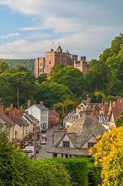 Dulverton Castle, Exmoor, UK by Billy Stock, Shutterstock