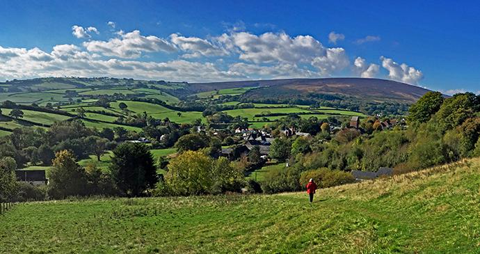 Exmoor landscape, Exmoor, UK by Tony Craddock, Shutterstock