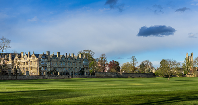Christ Church College Meadow, Oxford, England by ExFlow, Shutterstock