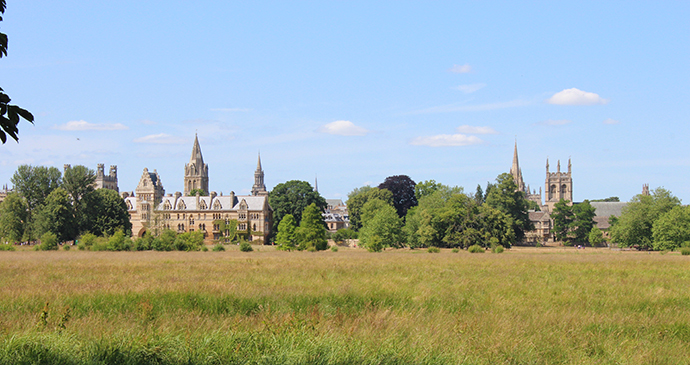 Christ Church Meadow Oxford UK by James Mason-Hudson, Wikimedia Commons