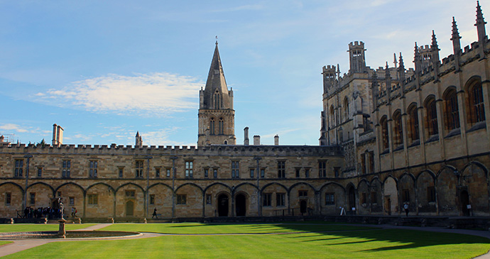 Christ Church College, Oxford, England by Tejvan Pettinger