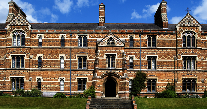 Keble College, Oxford, England by James Watts, Shutterstock