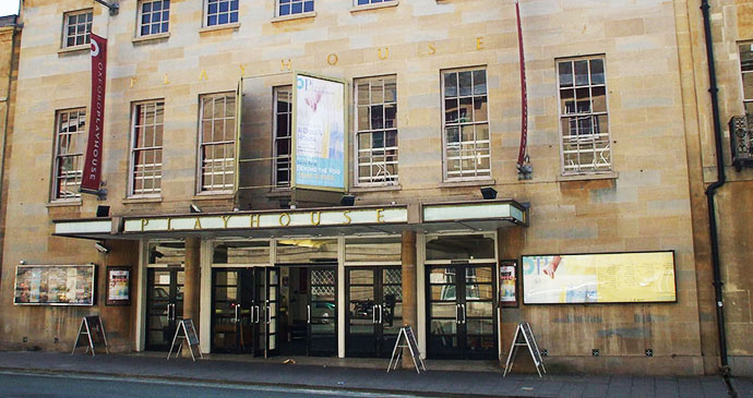 Oxford Playhouse, Oxford, Cotswolds, England by Omassey