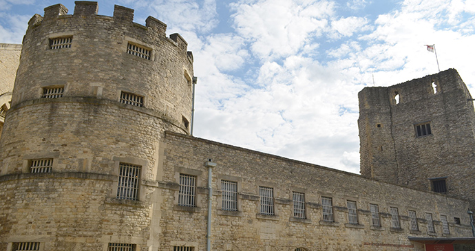Oxford Castle, Oxford, England by Cmglee