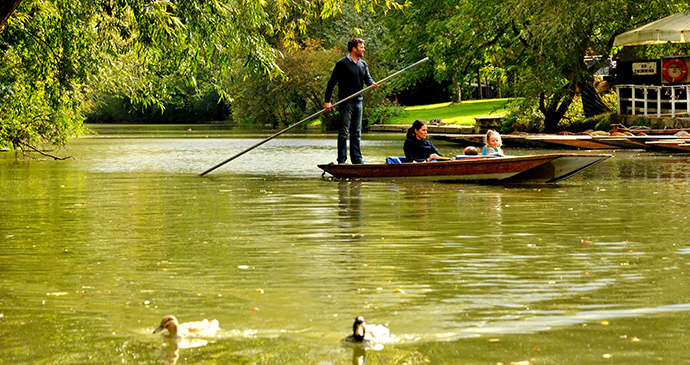 Cherwell, Oxford, England by Cherwell Boathouse