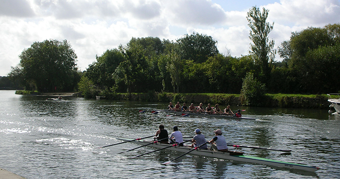 Isis, Thames, Oxford, England by Jpbowen