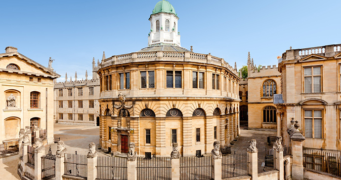Sheldonian Theatre, Oxford, England by Experience Oxfordshire