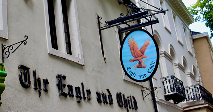 Eagle and Child pub Oxford UK by subherwal, Flickr