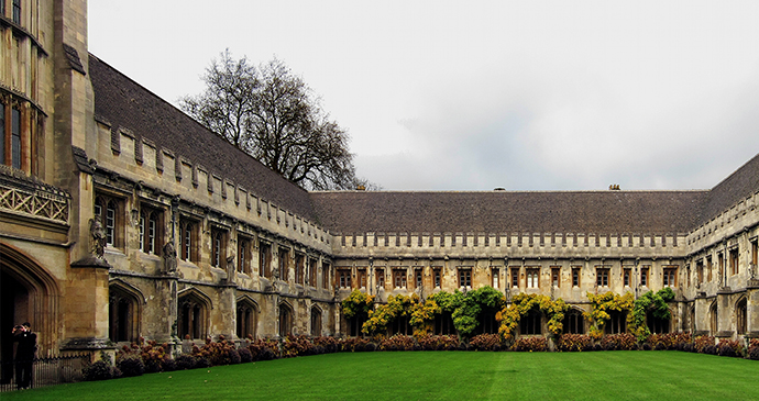 Magdaelen College, Oxford, England by Velvet