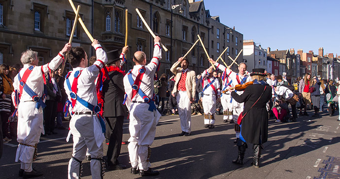 Morris dancers May Morning Oxford by Ed Webster Flickr