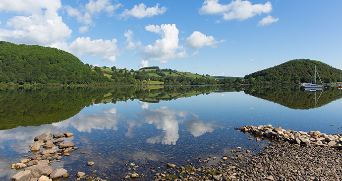 Ullswater Cumbria Britain by Mike Charles Shutterstock