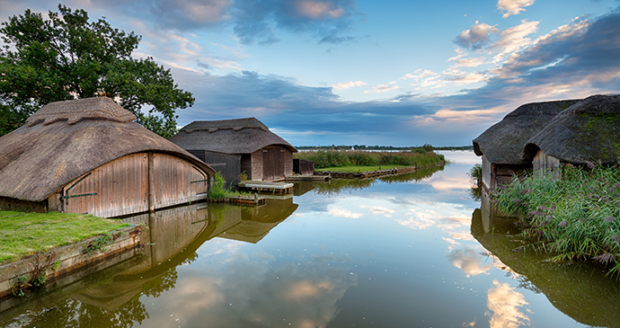 Hickling Broad Britain by Helen Hotson Shutterstock