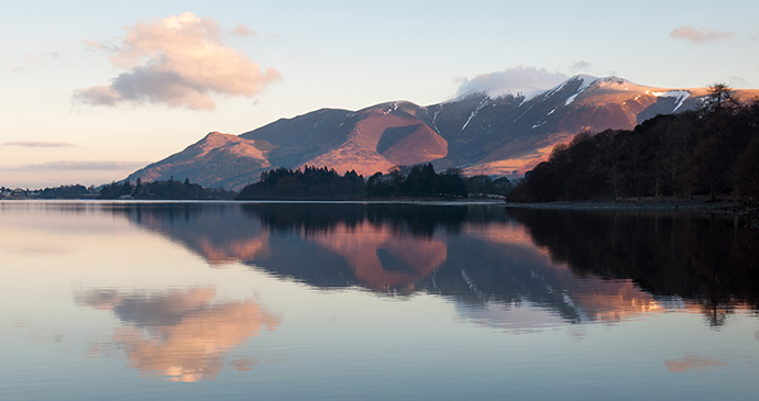 Derwent water Cumbria Britain by Joe Dunckley Shutterstock