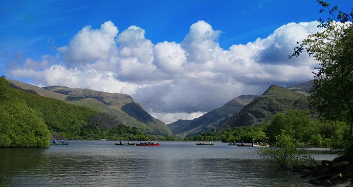 Llyn Padarn Gwynedd Britain by Cymraes Shutterstock