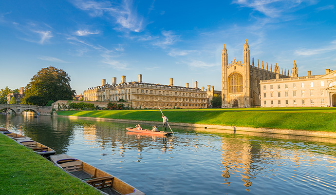 River Cam Cambridge Britain by Pajor Pawel Shutterstock