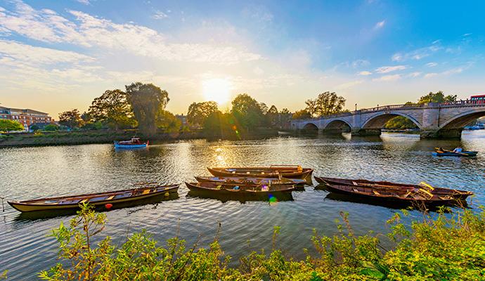River Richmond Park The Wilderness Cookbook by asiastock, Shutterstock