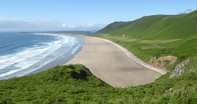 Rhossili beach, Gower, South Wales by Rory Walsh RGS-IBG Discovering Britain