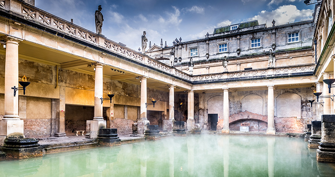 Great Bath The Roman Baths Bath Somerset by Bath & Northeast Somerset Council