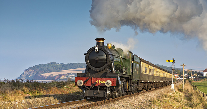 West Somerset Railway Somerset by Don Bishop