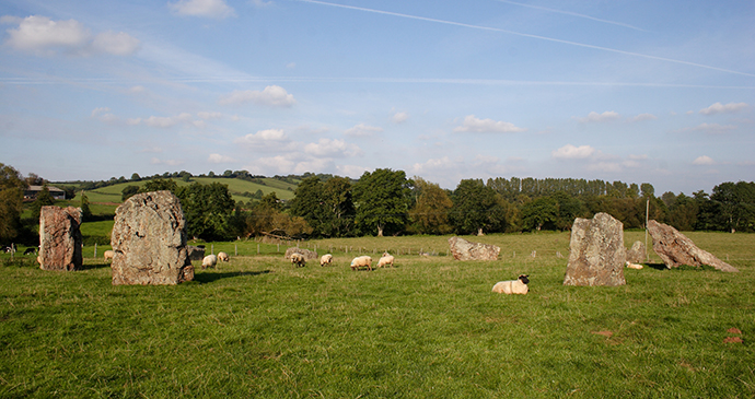 Stanton Drew Stone Circle Somerset by Mark Eastment Shutterstock