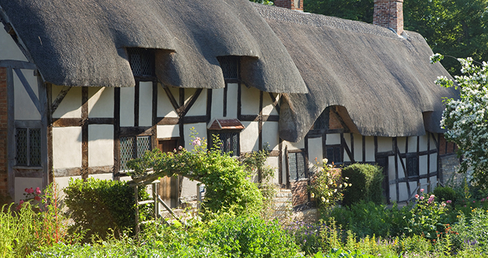 Anne Hathaway's Cottage, Stratford, England by Shakespeare Birthplace Trust