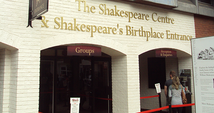 The Shakespeare Centre, Stratford, England by Rept0n1x