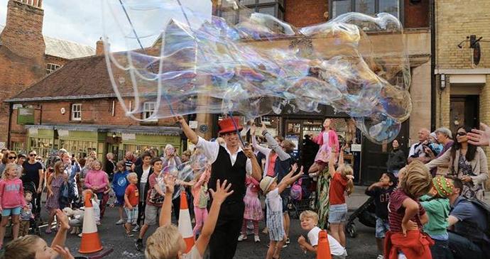 Performer, Arundel Festival, Arundel, Sussex, England by Arundel Festival