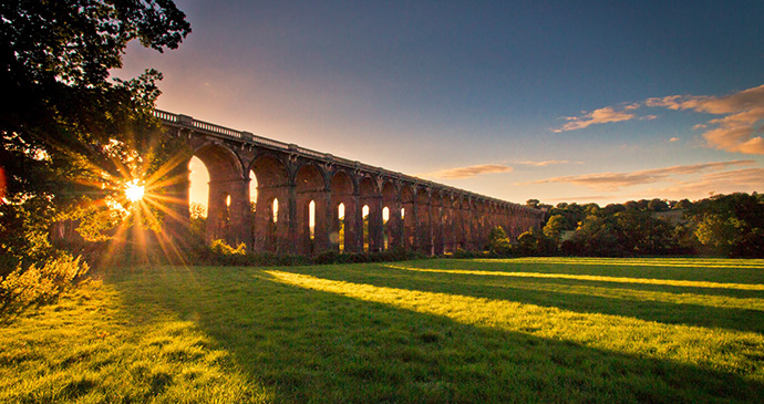 Ouse Valley Viaduct, Balcombe, Sussex, England by Nick Sharpin