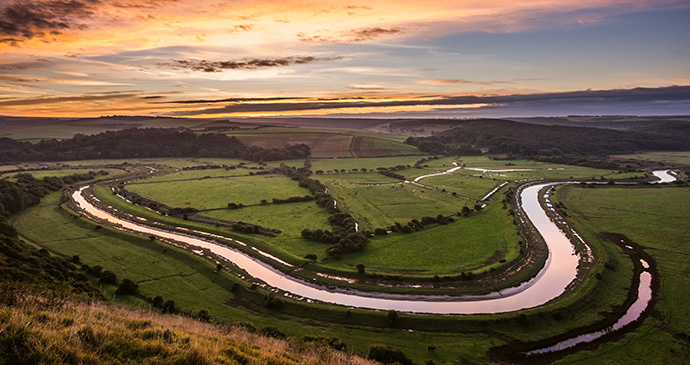 Cuckmere Haven, Sussex by South Downs National Park Authority