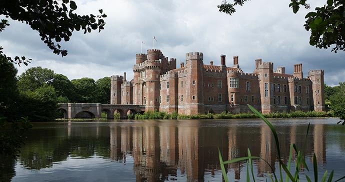 Herstmonceux Castle, Sussex, England by Maciej Olszewski, Shutterstock