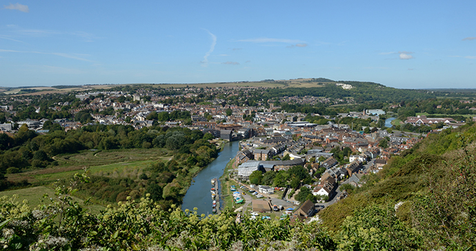 Lewes, Sussex, England by South Downs National Park Authority